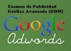 examen publicidad grafica avanzada google adwords display