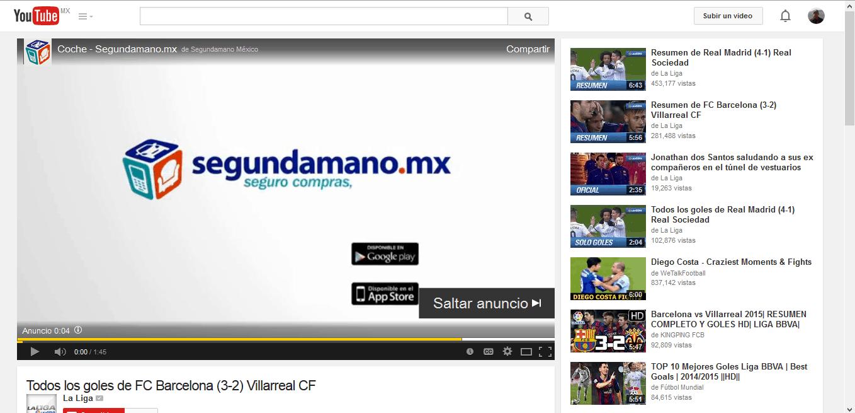 youtube segundamano mx